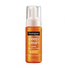 Neutrogena® Deep Clean® Acne Foaming Wash 150ml