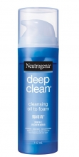 Neutrogena® Deep Clean® Oil To Foam Cleanser 142ml