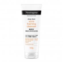 Neutrogena® Deep Clean® Acne Foam Cleanser 100g