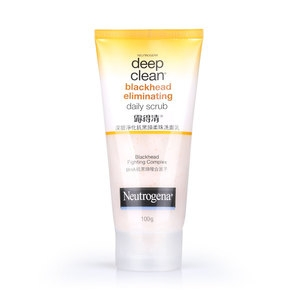 Deep Clean® Blackhead Eliminating Daily Scrub | NEUTROGENA® Malaysia