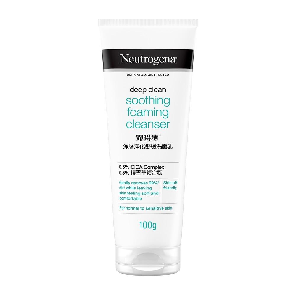 Neutrogena Deep Clean Soothing Foaming Cleanser 100g